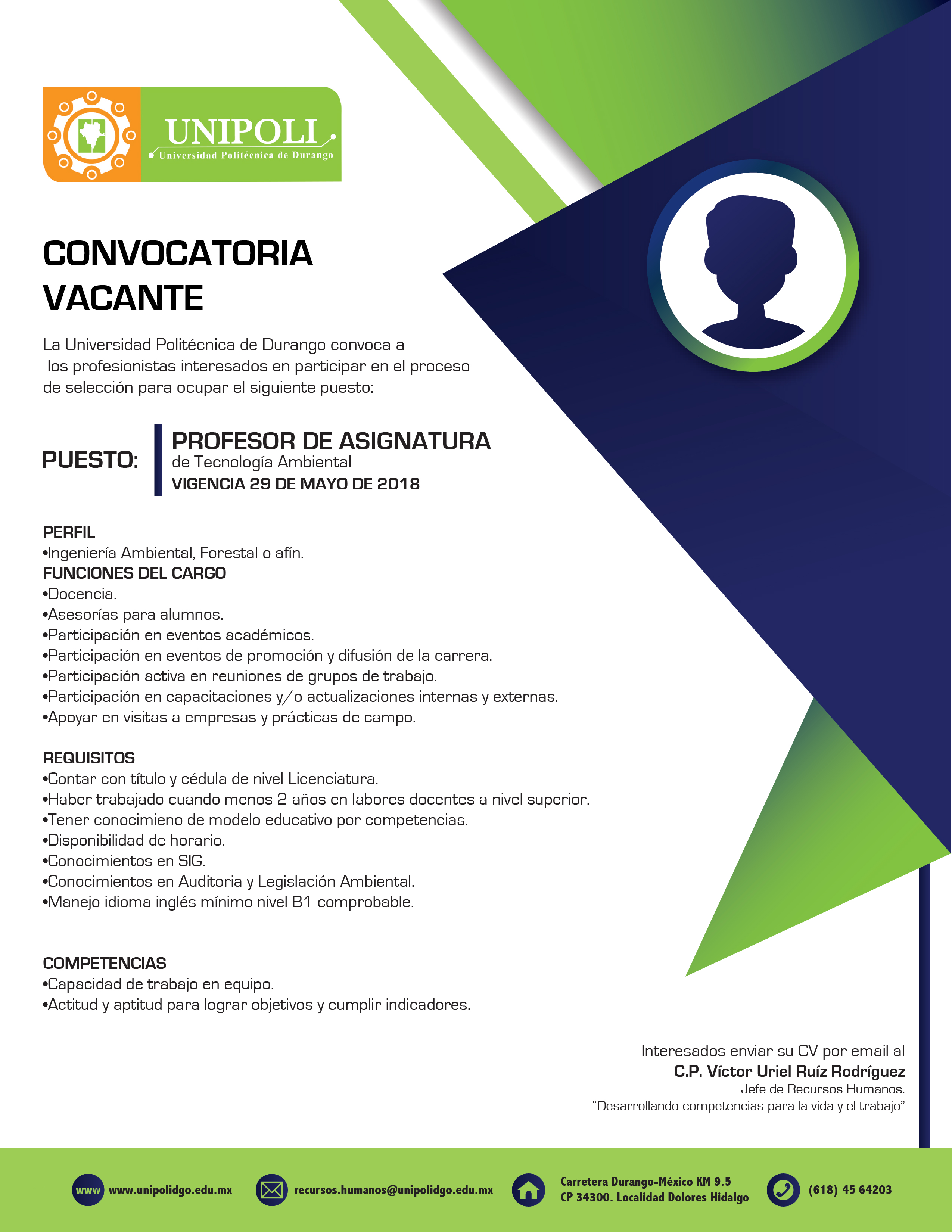CONVOCATORIA PA AMBIENTAL 2018
